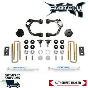 """Fabtech Heavy Duty 3.5"""" Ball Joint UCA System W/ Rear Shock 19-20 Ford Ranger"""
