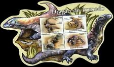 Guinea Bissau 2011 Stamps Odd Shape S/Sheet Komodo Dragon MNH
