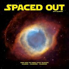 SPACED OUT - 2019 WALL CALENDAR - BRAND NEW - HUBBLE SPACE STARS 804717