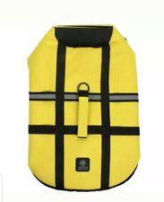 AKC Flotation Vest Life Jacket Dog Boating Yellow Med Cocker Springer Spaniel