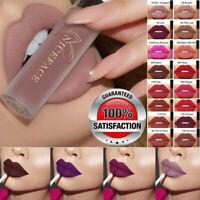 Long Lasting Liquid Lipstick Velvet Matte Lip Gloss Women Makeup Cosmetic Bu