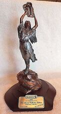 "Legends Sculpture ""TOMORROW'S WARRIOR"" C. A .Pardell 1993 LE ~CO/Orig Box~ Mint!"