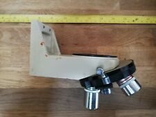 Nikon Microscope Revolving Turret - 5 position. Includes 4 lenses and mount