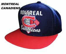 1c7950db061 NHL Mens Apparel- Montreal Canadiens Mens NHL CCM Snap-Back Team Cap