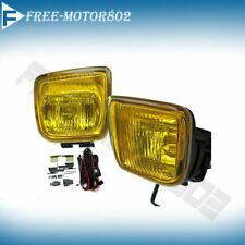 For 96-98 Honda Civic EK Yellow Fog Lights Lamps Kit