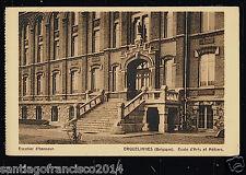 Belgie 87.-Erquelinnes -Ecole d'Arts et Métiers (Escalier d'honneur)