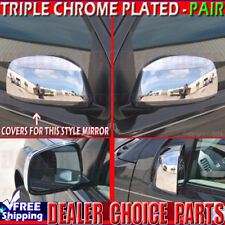 For 2005-2018 Nissan Frontier Xterra Triple Chrome Mirror COVERS Non Towing
