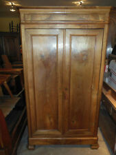 Armoires & Wardrobes 1800-1899 Just Fabulous 19th Century French Armoire 2 Door 2 Dray Real Heavyweight Oak Latest Technology