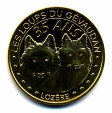 48 SAINT-LEGER-DE-PEYRE Loups du Gévaudan 7, 35 ans, 2020, Monnaie de Paris