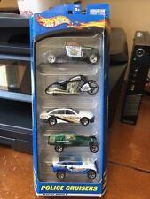 2001 Hot Wheels Police Cruisers 5-Pack