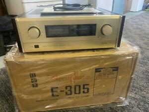Accuphase E-305 Integrated Stereo Amplifier in very good condition From Japan