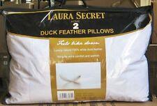 COPPIA di estremamente morbida LAURA Secret DUCK Feather cuscini.