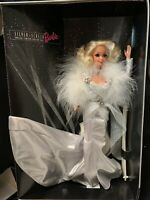 FAO Schwarz Limited Edition Silver Screen Barbie With Carrying Case