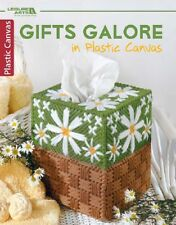Plastic Canvas Pattern Book GIFTS GALORE ~ Birdhouse, Magnets, Tissue Covers +
