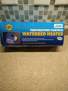 Blue Magic Hardside Waterbed Heater VHTF Temperature Control NOS Vtg 1995