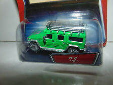 DISNEY PIXAR CARS Collection T.J. The Hummer Die Cast Wal Mart TUF GUE **ERROR**