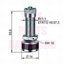 1 X Aluminium Métal Roue Pneu Pince à valve pour moto DUCATI YAMAHA HONDA