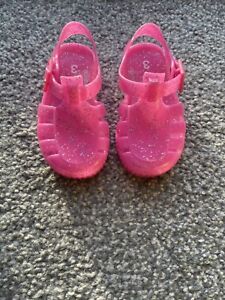 Size 3 Baby Girl Jelly Shoes