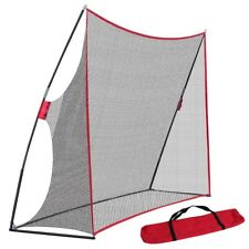 10 x 7FT Portable Golf Practice Net Hitting Driving Training Aids w/ Carry Bag