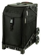 ZUCA Bag STEALTH Insert & Black Frame w/NON-Flashing Wheels - FREE SEAT CUSHION