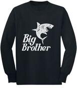 Big Brother Gift for Shark Loving Boys Toddler/Kids Long sleeve T-Shirt Siblings