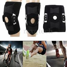 Adjustable Wrap Around Hinged Knee Brace Support Patella Compression Pain Relief