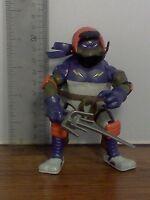 TMNT Teenage Mutant Ninja Turtles Donatello Don Biker w/ Sword Action Figure !!