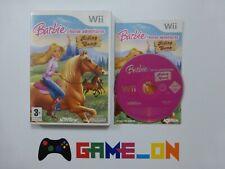 Nintendo Wii Barbie Horse Adventures Riding Camp Jeu Complet ~ GRATUIT P + P