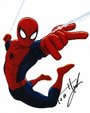 Tom Holland Signed 10X8 Photo Spider-Man: Homecoming AFTAL COA (7404)