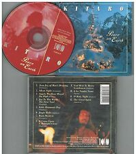 Kitaro ‎– Peace On Earth .CD Album 1996