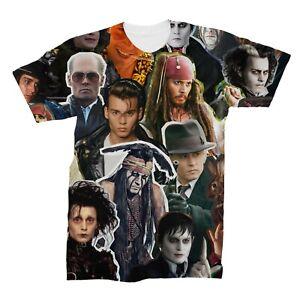 Johnny Depp Collage T-Shirt