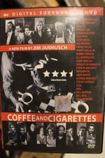 COFFEE & CIGARETTES DELETED RARE DVD JIM JARMUSCH REGION 1 MOVIE BILL MURRAY