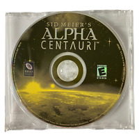 Sid Meier's Alpha Centauri PC CD-ROM Software Game 1999