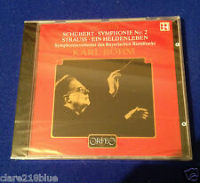 NEW Sealed  Schubert Strauss Karl Bohm Symphony CD Classical