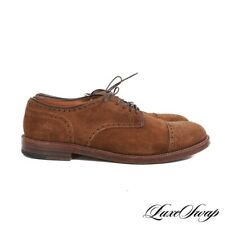 #1 MENSWEAR Alden x Epaulet Made in USA 21280 Snuff Suede Cap Toe Shoes 9 B/D NR