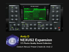 reFX Nexus Andy D Essential Plucks Sound Bank