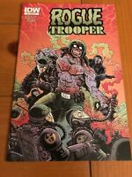 Rogue Trooper #4 Variant Cover (2014) IDW
