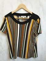 Gerard Womens Multicoloured Striped T-Shirt Size UK 14