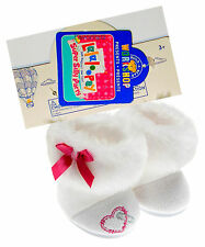 Build a Bear Mittens Fluff 'n Stuff Lalaloopsy White Snow Boots Doll Teddy Shoes