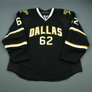 2010-11 Tristan King Dallas Stars Game Used Worn Reebok Hockey Jersey NHL