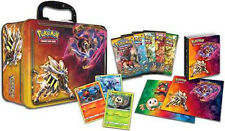 9x 2017 Pokemon English Spring Sun & Moon Collectors Chest Tin Box Sealed = Case