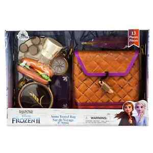 Disney Frozen 2 Anna Travel Bag From The Movie 13 Piece Set New - FREE SHIPPING