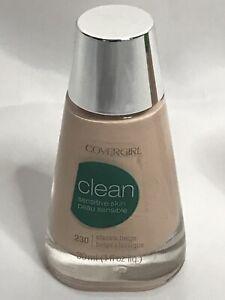 CoverGirl Clean Sensitive Skin # 230 Classic Beige, 1 fl oz Bottle
