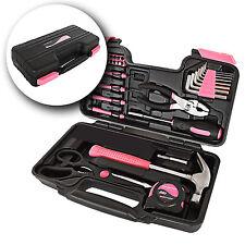 LADY Rosa kit de herramientas 39 piezas con funda de transporte para mujer hogar CRAFTSMAN Tools Set