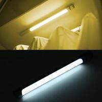 LED Kitchen Garage Stairs Lamp Motion Sensor Night Light Cabinet Closet Lamp