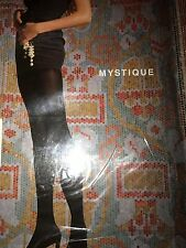 Wolford Mystique 100 Den Opaque Tights Color Nearly Black ExSmall 10773 -14 Rare