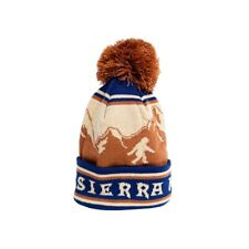 NEW Sierra Nevada Beer Bigfoot Pom Puff Winter Beanie Hat Brown Blue Mens Womens
