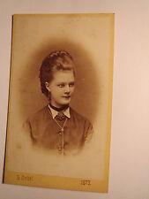 Wien - 1873 - schönes Mädchen - junge Frau - Portrait / CDV