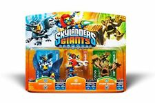 Skylanders Triple de gigantes pack C Sonic boom Sprocket Stump Smash -