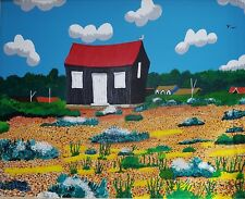 RED HUT RYE HARBOUR OPEN EDITION PRINT BY MICHAEL PRESTON